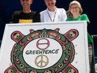 Prezydent Poznania razem z Greenpeace przeciw zmianom klimatu