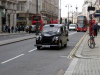 Ekologiczne taksówki w Londynie