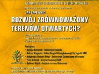 Zaproszenie na debatę o terenach otwartych