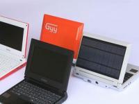 Biodegradowalny netbook zasilany energią słoneczną