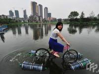 Rower wodny własnej konstrukcji?