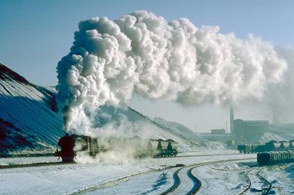 Pociągi parowe 38